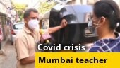 Meet the Mumbai teacher who ferries Covid patients for free in his auto