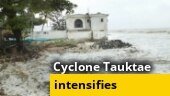 Cyclone Taukate intensifies; Amit Shah holds meeting with Gujarat, Maharashtra CMs