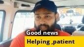 Good news: NRI turns ambulance driver to help COVID patients in Telangana