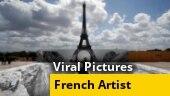 Watch | Cliffs below the Eiffel Tower?