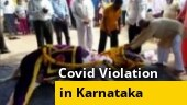 Watch: Hundreds gather for horse's funeral in Karnataka's Belagavi