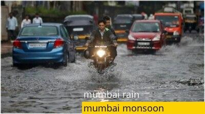 Heavy rain disrupts Mumbai; Roads waterlogged, rail services hit