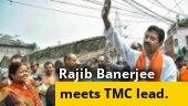 Former Bengal minister Rajib Banerjee holds meeting with TMC leader Kunal Ghosh