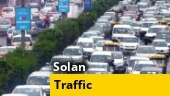 Endless traffic jams seen in Solan as India unlocks post Covid wave