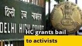 Delhi HC grants bail to activists Devangana Kalita, Natasha Narwal; SP will align with smaller parties: Akhilesh Yadav; more