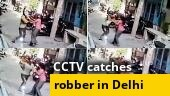 Watch: Police nab 22-year-old for beating, robbing woman in Delhi's Sultanpuri