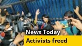 2 days after bail, student activists walk free; Maharashtra Covid task force warns of 3rd wave in 2-4 weeks; more