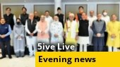 PM Modi holds all-party meet with J&K leaders; UP ATS probes ISI link to conversion racket; more