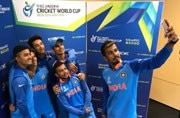 Photo Tweeted by @cricketworldcup