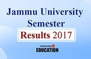 Jammu University Semester Results 2017 declared at coeju.com: How to check