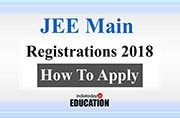 JEE Main 2018 registrations to end in 7 days: Know how to apply