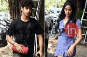 PHOTOS: Rumoured lovebirds Jhanvi Kapoor and Ishaan Khatter spotted on a lunch date