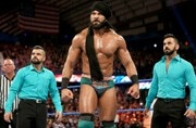WWE live: Jinder Mahal accepts Triple H's challenge for a one-on-one match in India