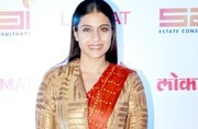 Kajol tried too hard to get experimental with a saree, and ruined it