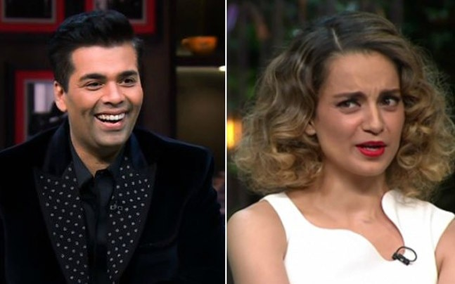 Is Kangana finally friends with Karan Johar?