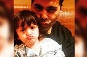 Karan Johar or Shah Rukh Khan's son, AbRam: Who rocks the pout?
