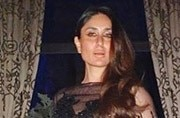 Kareena Kapoor in this hot, black gown is giving us fashion goals for 2018