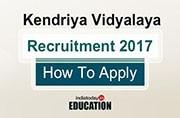 Kendriya Vidyalaya is hiring: Apply now at kvsangathan.nic.in