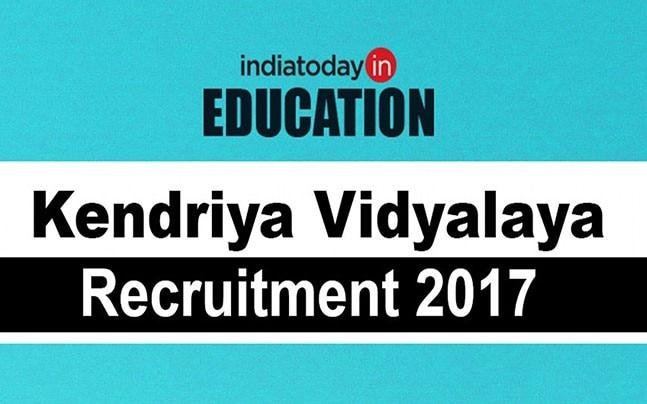 Kendriya Vidyalaya Recruitment 2017: Check eligibility criteria, important dates here