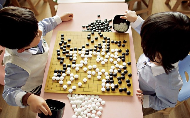 Alphago, the quest to build an intuitive computer programme.