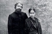 Bharati and wife Chellamma