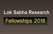 Lok Sabha Research Fellowships 2018: Apply now