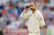Australia spinner Nathan Lyon burnt his toast and delayed a first-class match