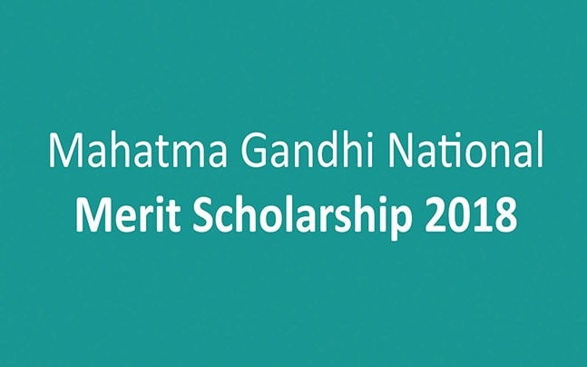 Mahatma Gandhi National Merit Scholarship 2018: Know how to apply