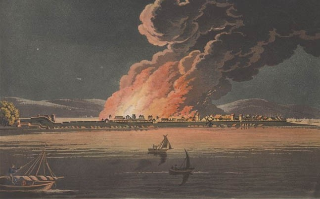 A view of Bombay from Malabar Point. Photo courtesy: www.bl.uk (British Library)