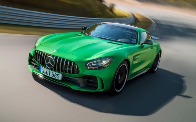The Mercedes Benz GT R will also be presented at the Auto Expo.