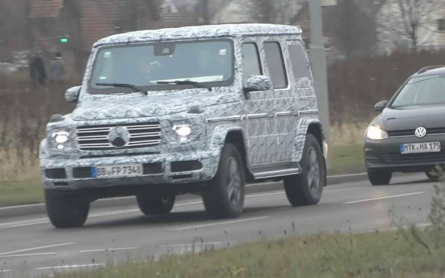 One major upgrade from the older G-Class will be the longer wheelbase which means a lot more room at the back and better seating, and a large boot.