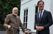 Why PM Narendra Modi cannot ride the bicycle gifted by Dutch PM in India