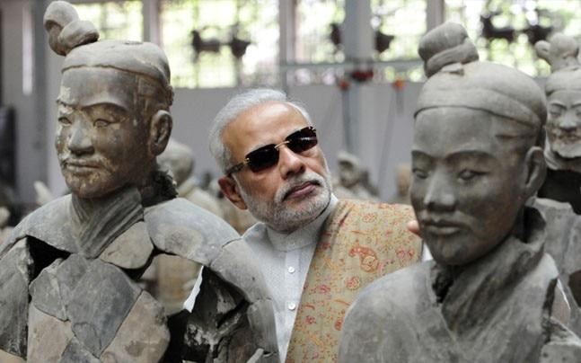PM Narendra Modi during his visit to China | Photo: AP