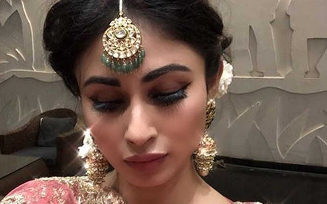 Mouni Roy couldn't have worn a tackier lehenga for Aashka