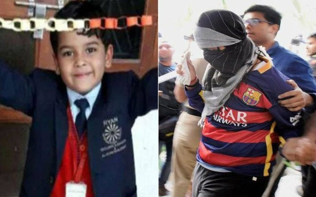 7-year-old Pradyuman Thakur and 16-year-old accused