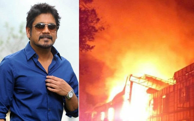 Fire at Annapurna Studios