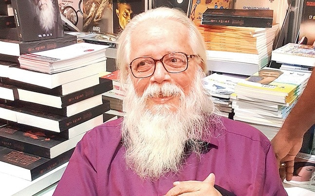 Narayanan was the prime accused in ISRO espionage case which created huge political turmoil in the state. File photo