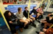People around the world are riding the subway without pants, know why