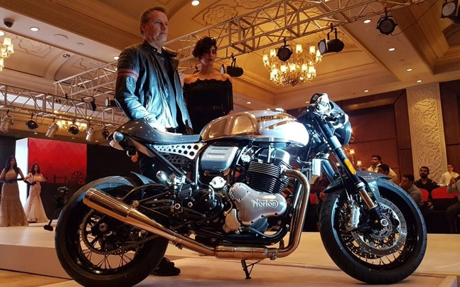British motorcycle manufacturer Norton and Kinetic Group had announced a joint venture at EICMA 2017.