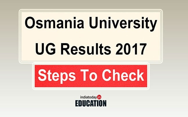 Declared! Osmania University BA, BCom, BSc, BBA Supply Results 2017 out at osmania.ac.in: Steps to check