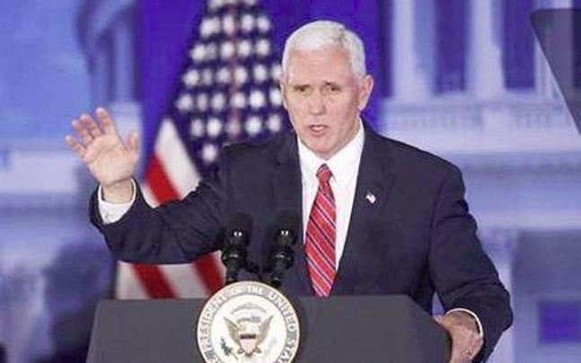 US Vice-President Mike Pence