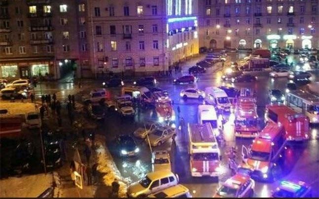 Blast in Russia's St Petersburg (Photo: Twitter/@keimrcylllpq)