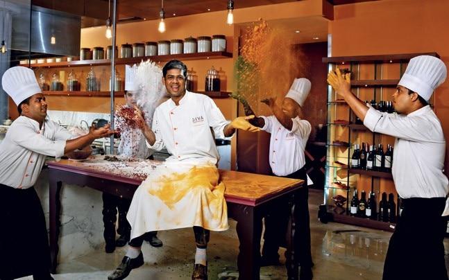 Chef Ajay Sahoo who helms operations at Diya