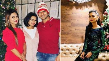 Telly town is soaked in the spirit of Christmas, from Bharti Singh, who is celebrating her first Christmas with hubby Haarsh in Dubai to the reunion of Iss Pyaar Ko Kya Naam Doon's cast.