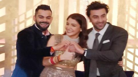 Virat Kohli and Anushka Sharma's Mumbai reception was a star-studded affair. From Shah Rukh Khan to Ranbir Kapoor to Amitabh Bachchan, B-Town graced the event.