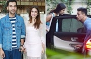 If rumoured lovebirds Tiger Shroff and Disha Patani were spotted at the gym together, an injured Rajkummar Rao was seen with co-actor Kriti Kharbanda during the promotion of Shaadi Mein Zarur Aana.
