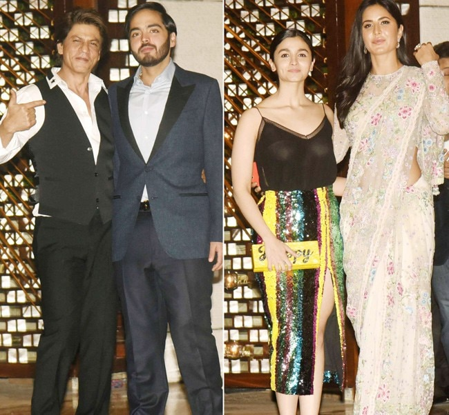 Mukesh Ambani threw a lavish bash in honour of Mayor of London, Sadiq Khan, and B-Town was the first to arrive. From Shah Rukh Khan to Katrina Kaif to Alia Bhatt, many were spotted at the star-studded night.