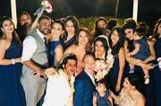 Aashka Goradia-Brent Goble wedding: These pics of the couple with Mouni Roy, Karanvir Bohra, Adaa Khan are pure love and joy