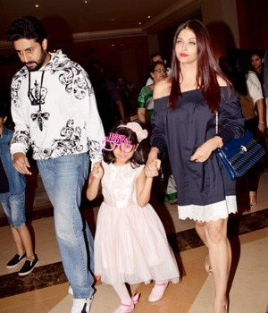 Aaradhya Bachchan is one of the most popular star kids on the block. As she turned six on November 16, Aishwarya Rai Bachchan, Amitabh Bachchan and Abhishek Bachchan took her out to celebrate her big day.
