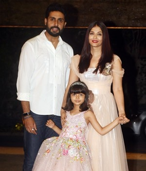 Abhishek Bachchan and Aishwarya Rai Bachchan's daughter Aaradhya turned six on Friday, and the Bachchans threw a lavish party for their little princess.